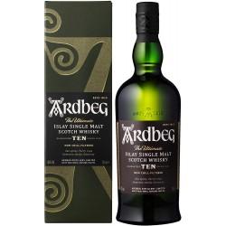 whisky Ardbeg single malt...